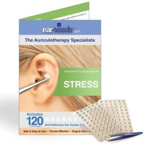 acupressure ear seeds for stress