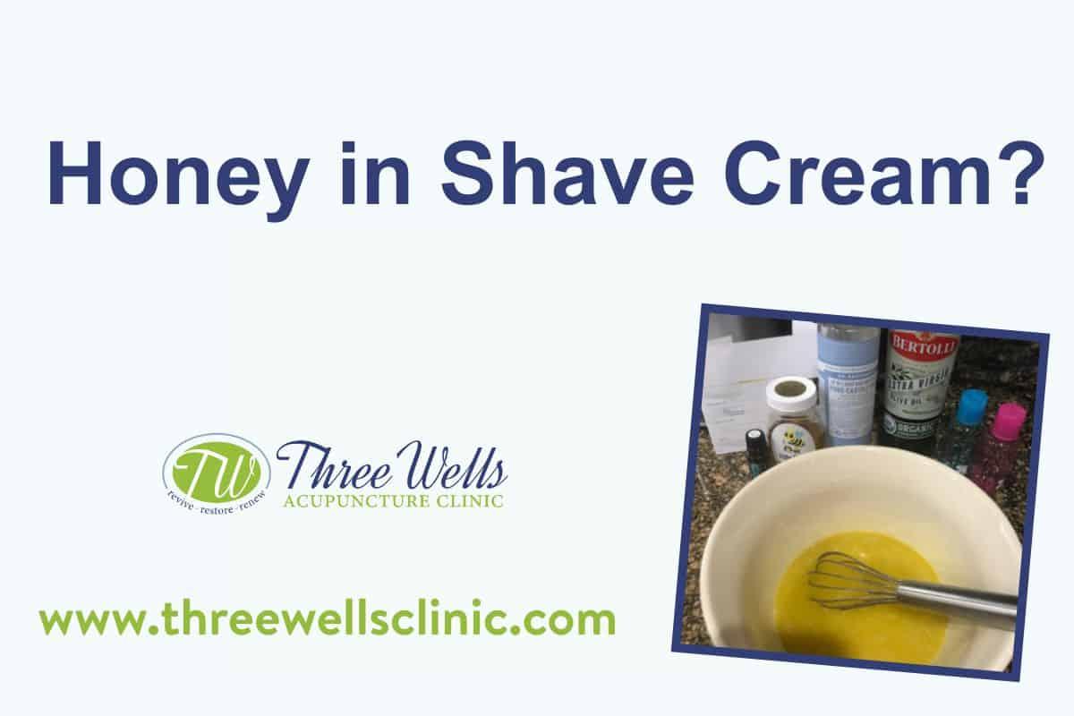 Homemade Shave Cream